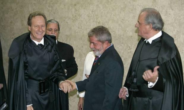 Enrique Ricardo Lewandowski was former president Lula's first nomination to the Supreme Court, in 2006 Photo: Gustavo Miranda / Agência O Globo - 03/16/2006