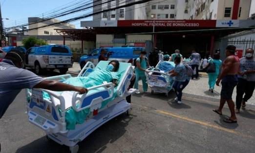 Duas pacientes com Covid-19 que estavam no Hospital Geral de Bonsucesso  morrem após incêndio - Jornal O Globo