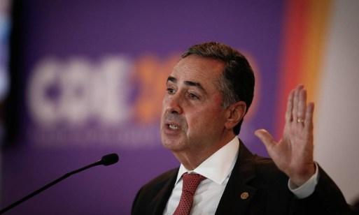 Luís Roberto Barroso, ministro do STF e presidente do TSE Foto: Pablo Jacob/Agência O Globo