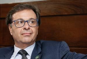 Ao lado do Bolsonaro, Gilson Machado assume o Ministério do Turismo. Foto: Isac Nóbrega / PR