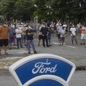 Ford factory closing Photo: Edilson Dantas / Agência O Globo