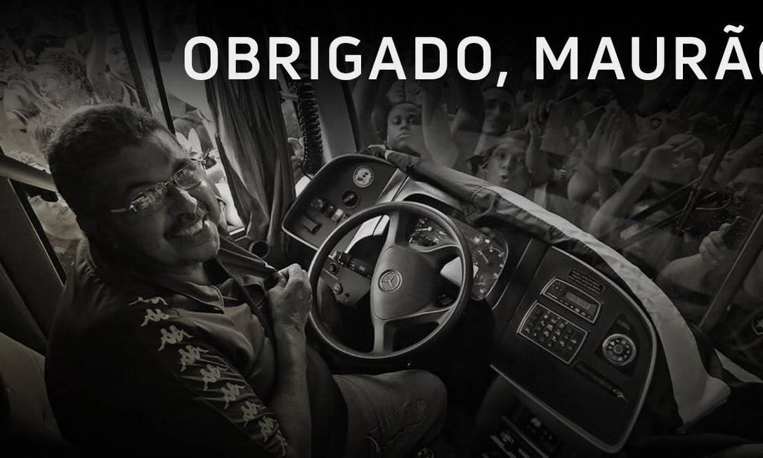 Mauro Sampaio, o Maurão. Motorista do Botafogo morreu aos 63 anos, em janeiro Foto: Divulgação/Botafogo