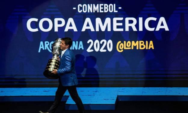 Copa AMérica está atualmente sem sede Foto: JUAN BARRETO / AFP