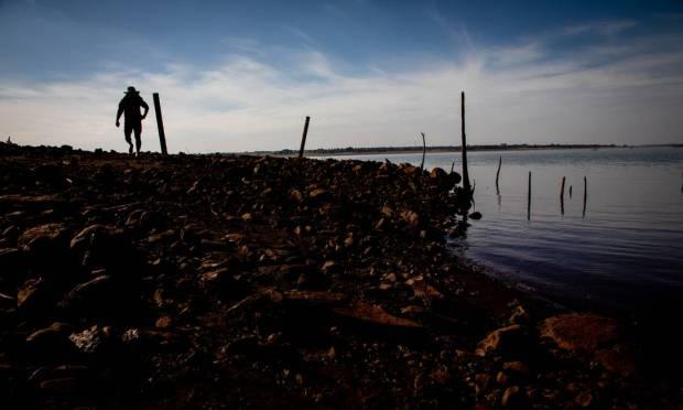 "Segundo ONS, está prevista ""a perda do controle hidráulico de reservatórios da bacia do Rio Paraná no segundo semestre de 2021"" Foto: Ferdinando Ramos / Agência O Globo"