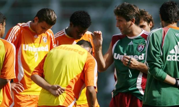 Fluminense training in Laranjeiras under the command of coach Renato Gaúcho Photo: Jorge William / Agência O Globo - 06/01/2007