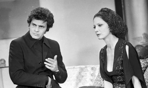 Tarcísio Meira and Glória Menezes in 'O Semideus', from a 1973 novel Photo: Reproduction