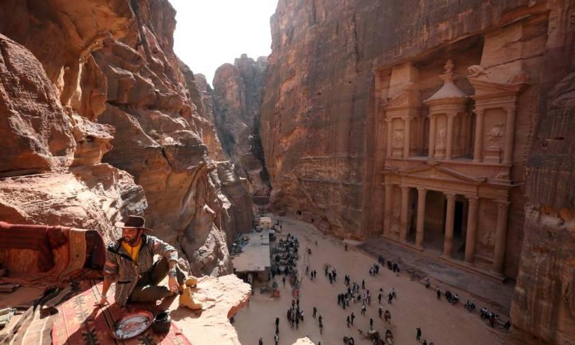 The ancient city of Petra, Jordan Photo: MUHAMMAD HAMED / Reuters