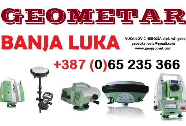 GEOMETAR GEODETSKE USLUGE +38765235366