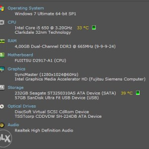 Fujitsu Celsius W380