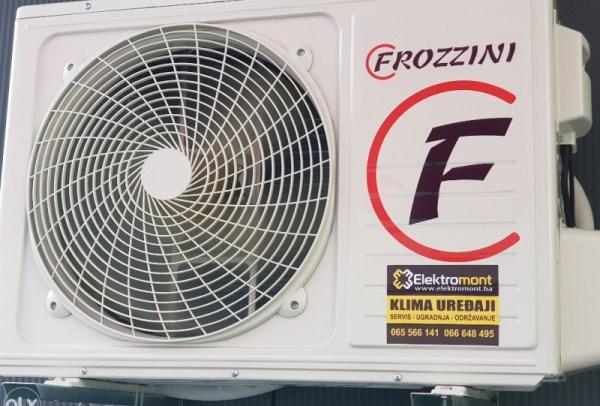 AKCIJA !!! Klima Frozzini  12 sa montažom 2018 Banja Luka 065/566-141