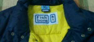 Zimska jakna s kapuljačom Fishbone (XL)