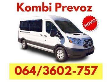 Kombi prevoz robe Srbija – 064360 27 57