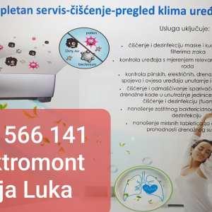 065 566 141OVLAŠTENI SERVIS klima uređaja Elektromont Banjaluka-popravka i ugradnja klima