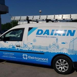 NOVI MODEL-Daikin inverter A++ klima FTXC35B sa ugradnjom 1350 KM Elektromont Banja Luka 065 566 141