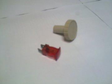 Sijalica i dugme termostata za TA peć Magnohrom