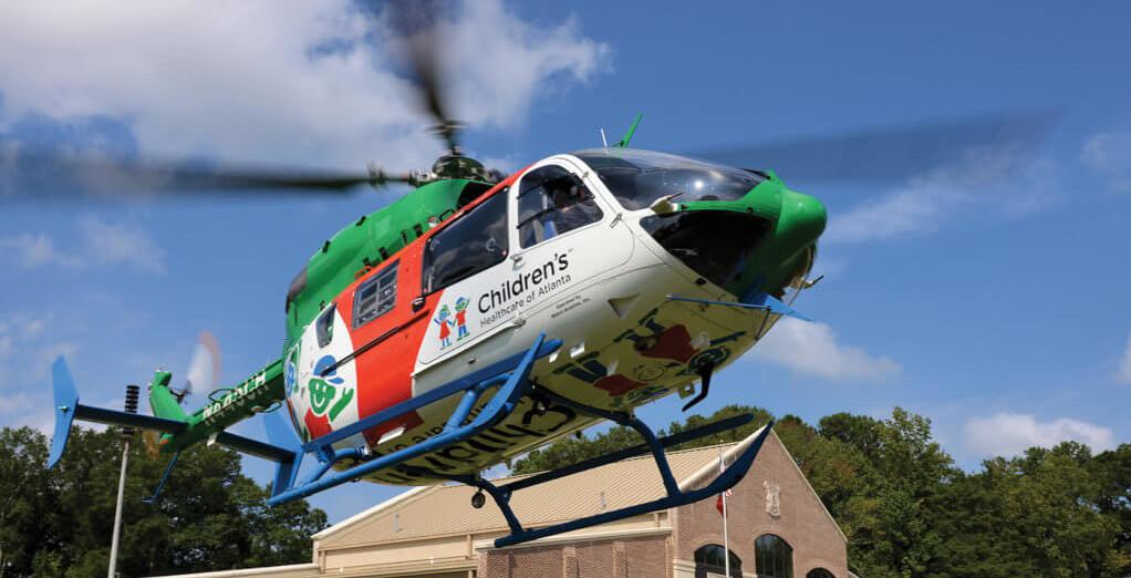 Medical Helicopter Landing