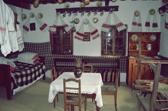 Casa medievala din Muzeul Judetean Bistrita