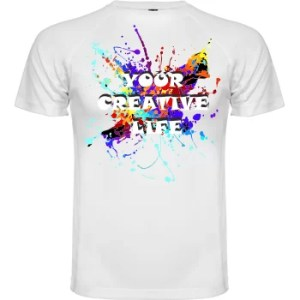 Camiseta your creative life