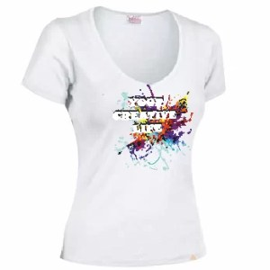 Camiseta de mujer: Your creative life