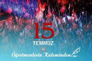 """""""ÖĞRETMENLERİN KALEMİNDEN 15 TEMMUZ"""" KİTABI YAYIMLANDI"""