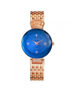 Луксозен дамски часовник (златист)