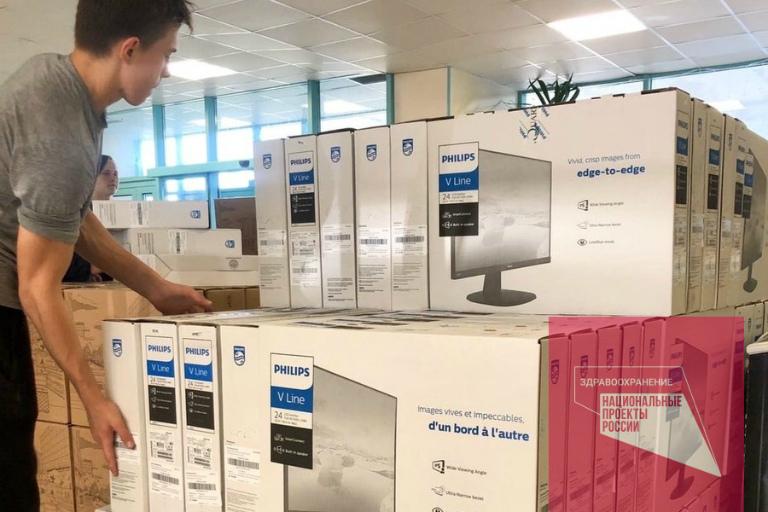 Благодаря нацпроекту в больницу Березников поставили более 540 новых компьютеров