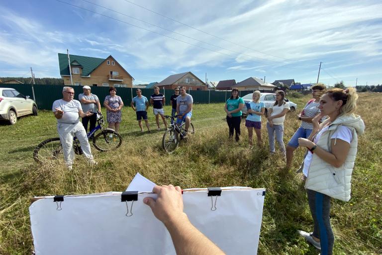 Жители села Фоки готовятся к участию в конкурсе проектов инициативного бюджетирования!