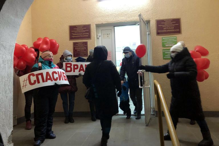 Чайковским медикам организовали «Добрую встречу»