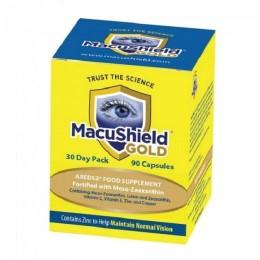 MacuShield Gold ögonvitaminer reducerar risken för ögonsjukdomar