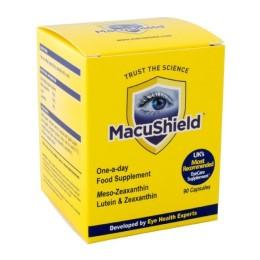 MacuShield ögonvitaminer reducerar risken för ögonsjukdomar