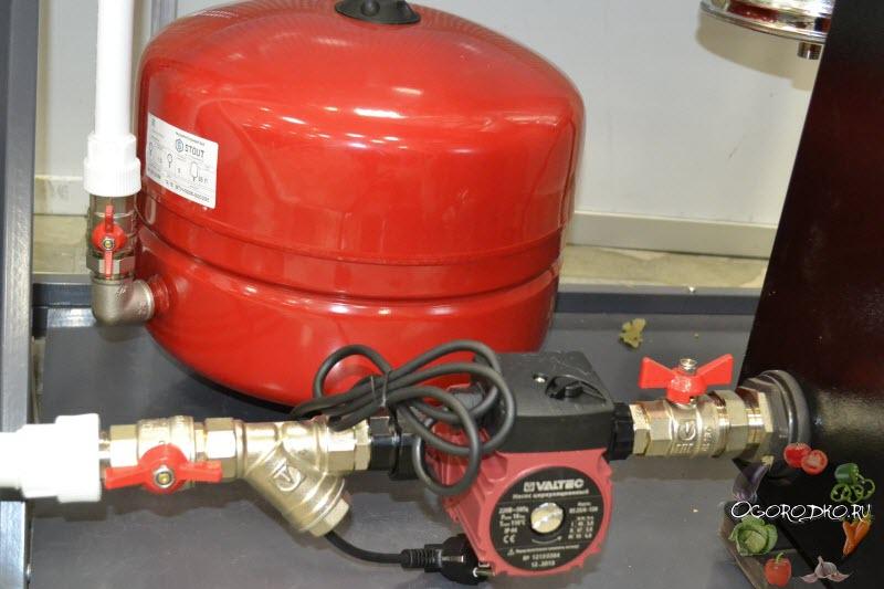 Hidromasszázs melegvíz-melegítő bekapcsol