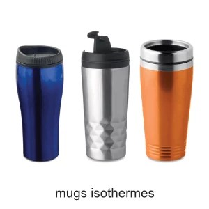 mugs isothermes