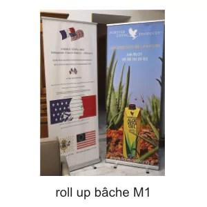 roll up bâche M1