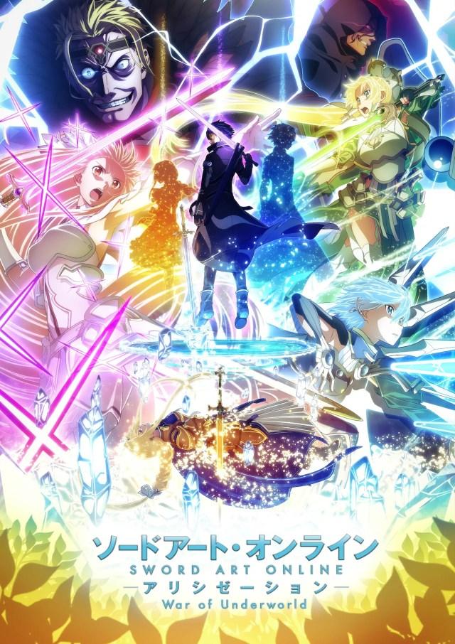 """Sword Art Online Alicization War of Underworld"" 2nd cool key visual."