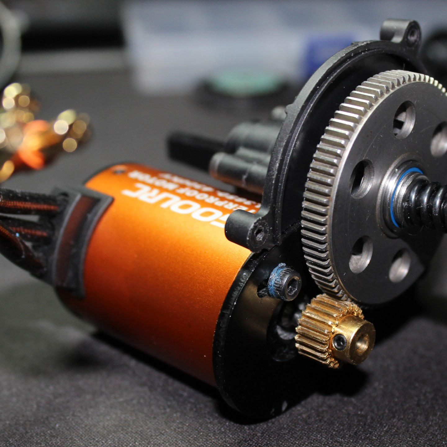 "New Transmission & Slipper Clutch For ""Mayhem"""