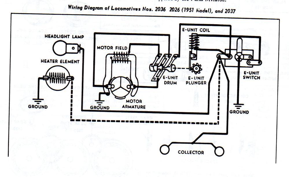 lionel general train motor wiring diagram