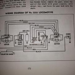 Train Horn Wiring Diagram Thermo King Apu Alternator 1950s Lionel F3 2343 Santa Fe Engine | O Gauge Railroading On Line Forum