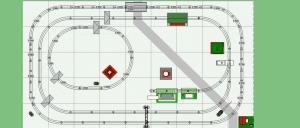 Lionel D131 plan, 5' x 9' | Model Train Layouts | Pinterest