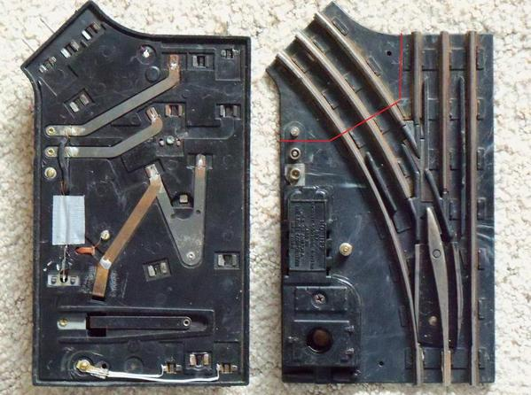 Cutting Down Lionel 022 Switches O Gauge Railroading On Line Forum