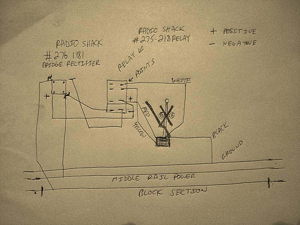 3 way switch circuit diagram 1999 nissan altima engine how to wire mth crossing signals w gates | o gauge railroading on line forum