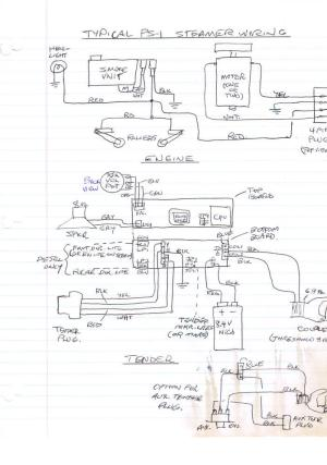 Wiring Diagram for Protosounds Board? | O Gauge