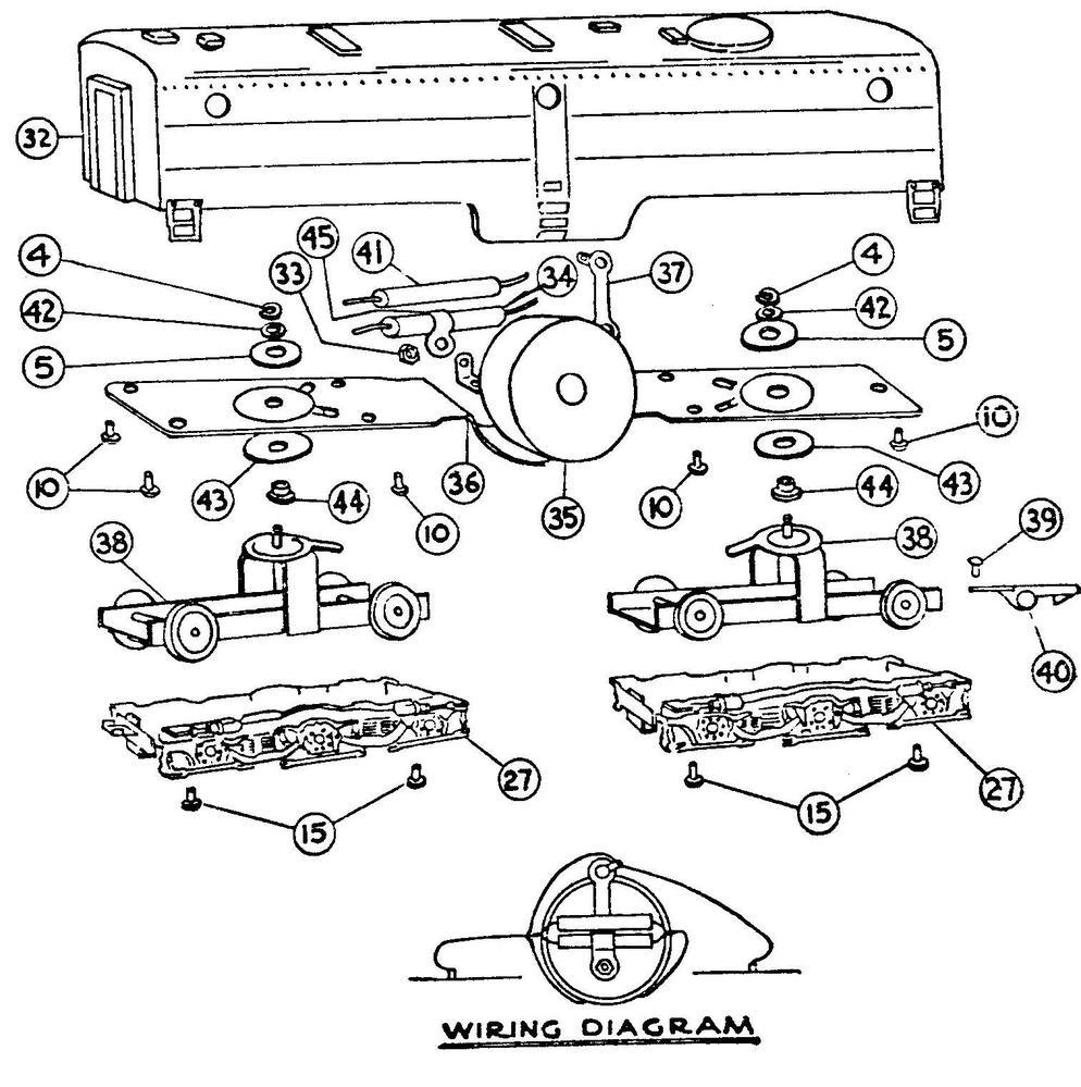 American Flyer Steam Engine Wiring Diagram : 42 Wiring