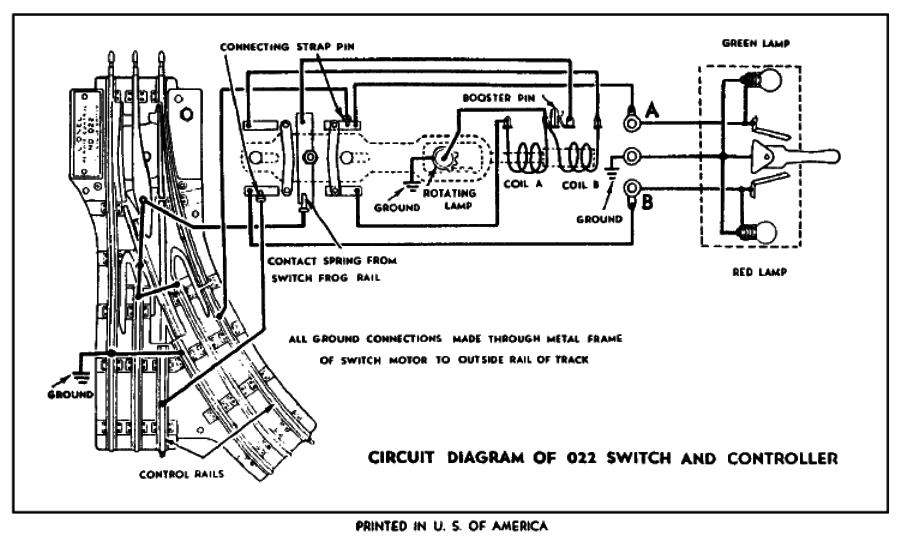 Lionel 1122 Switch Wiring Diagram : 33 Wiring Diagram