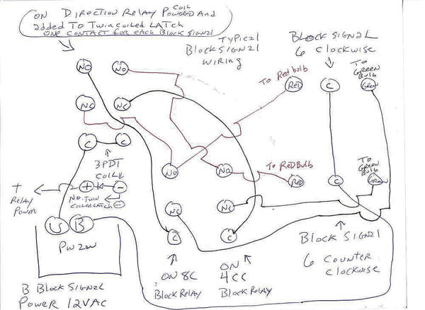 dpdt relay wiring diagram rj11 phone jack latching database control blocks o gauge railroading on line forum circuit schematics