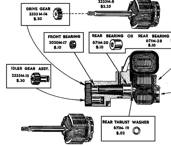 lionel engine diagrams