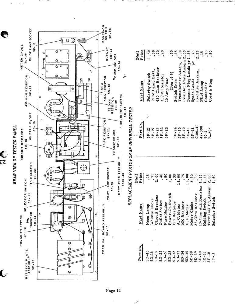Lionel Transformer Type R Wiring Diagram Lionel 1033