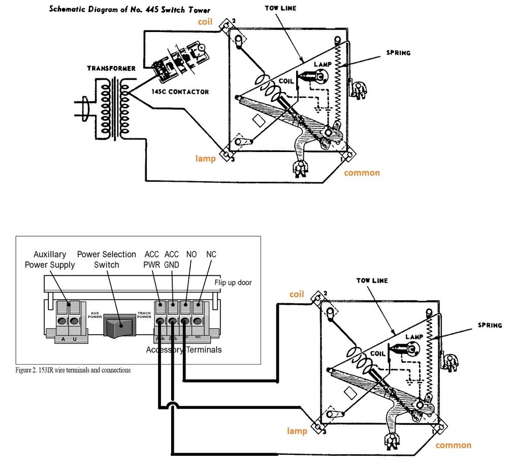 hight resolution of  lionel 445 switch tower o gauge railroading on line forum on american flyer wiring diagrams
