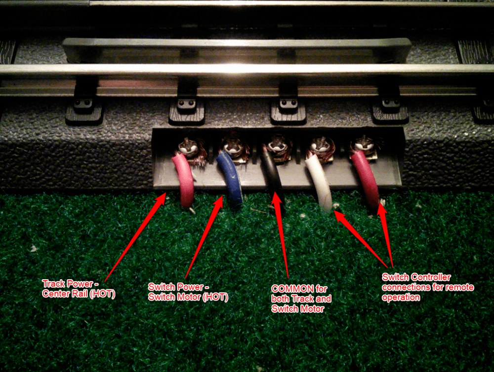 Crossover Wire Diagram Electrical Realtrax Issues O Gauge Railroading On Line Forum