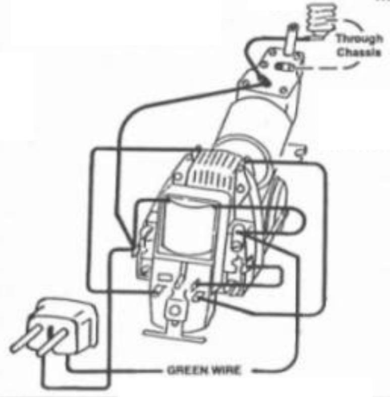 How to wire a post war American Flyer 3 wire E-unit to