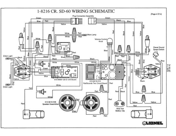 Wiring Diagram E Unit For Lionel 636e